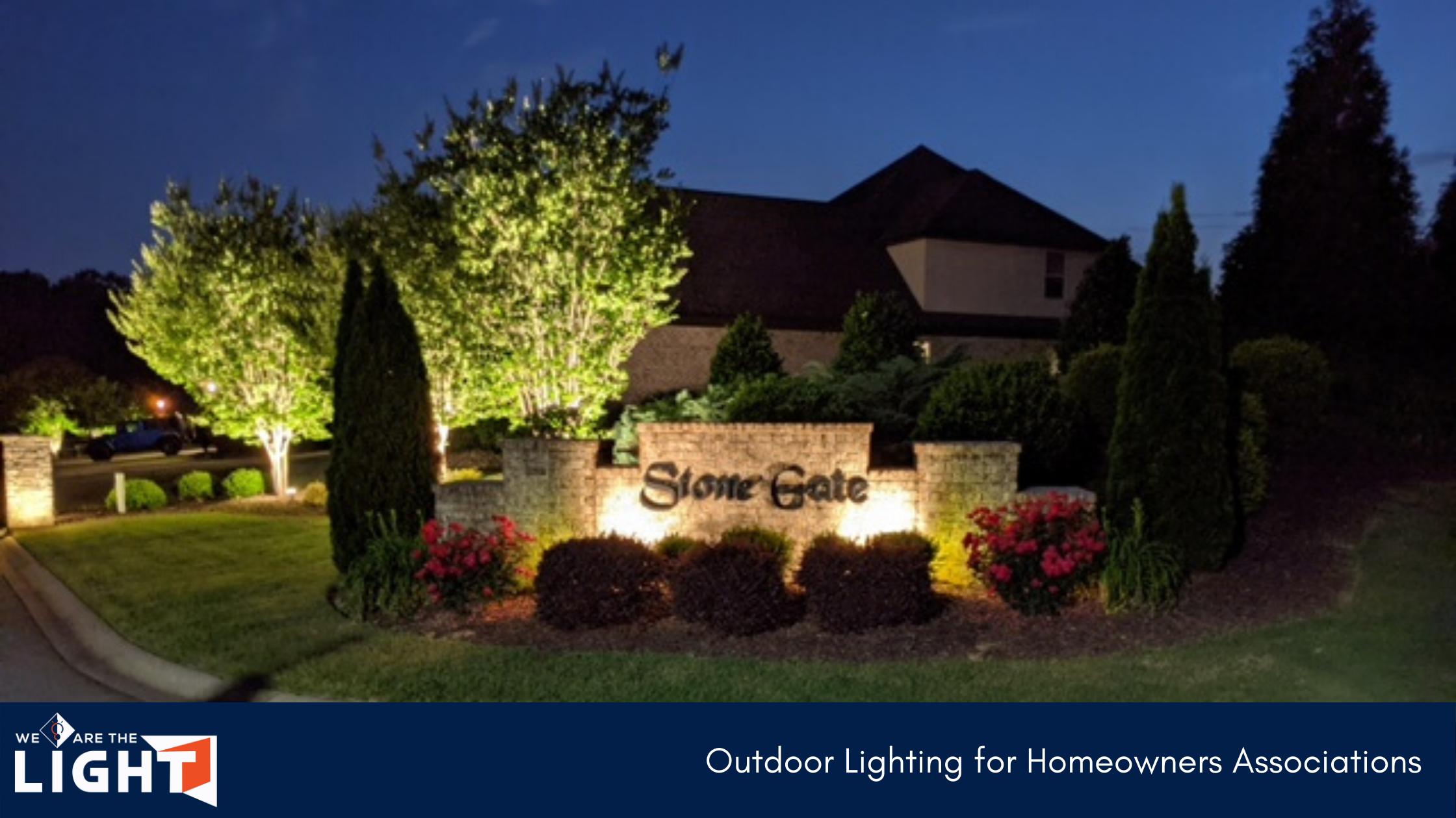 Homeowners Associations Outdoor Lighting