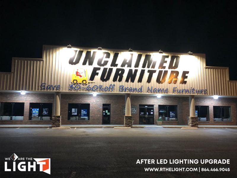 Unclaimed Furniture LED Lighting Update