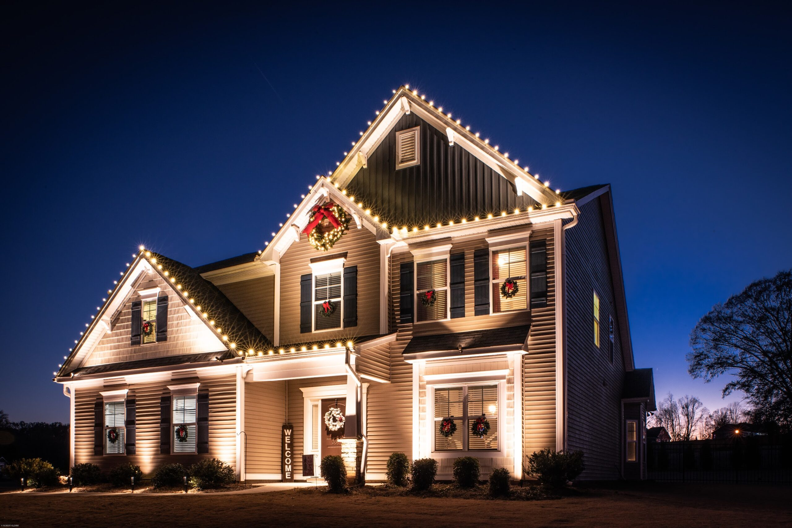 Holiday Lighting Installation Services In Greenville